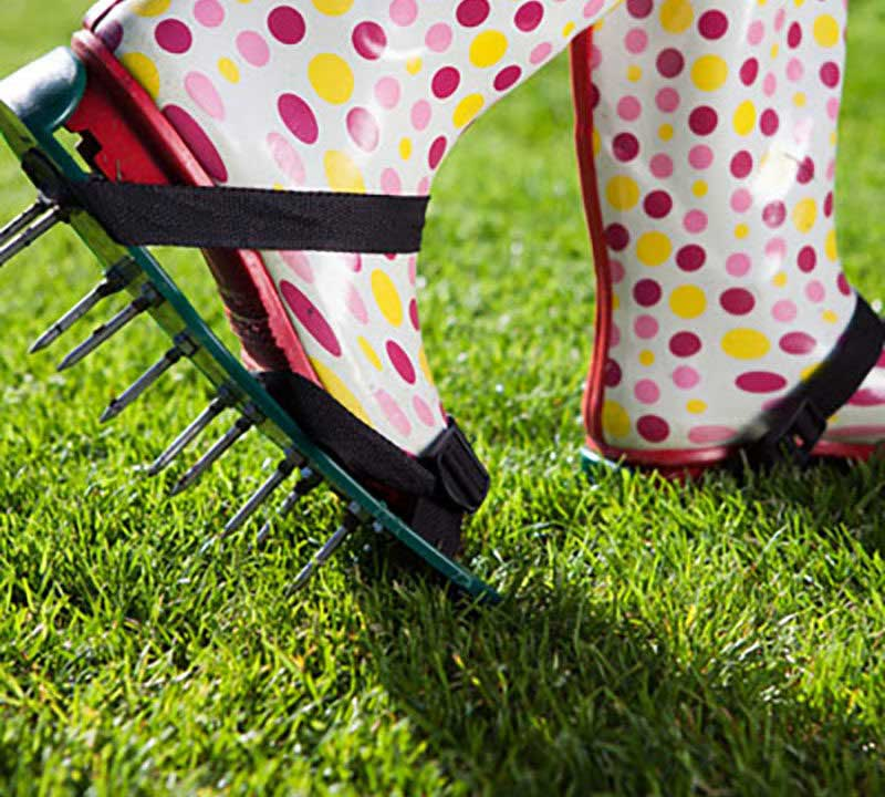 what are the benefits of lawn aeration